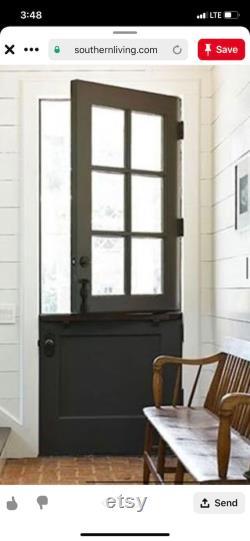 1 Vintage Reclaimed Dutch Door