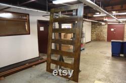 6 Linear Pane Glass Sliding Door,Modern Minimalist, Sliding Barn Door