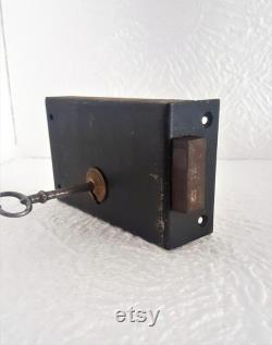 Ancient Patina Padlock Vintage Door Lock