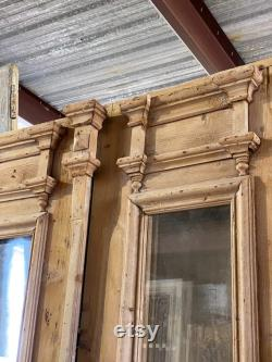 Antique French Doors with Glass Insert