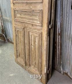 Antique French Double Doors, Iron Wood Doors, Tall Pair, European Doors, R18, Antique Doors, Pantry Doors, Old Wood Doors, Distressed