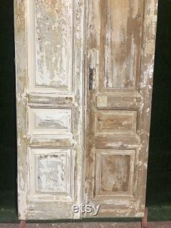 Antique French doors (98.5x43.5) A084