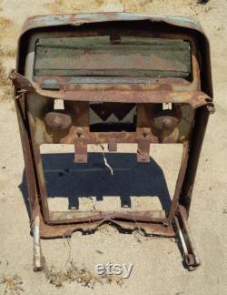 Antique Massey Ferguson MG Tractor Grille Yard Art California Barn Find