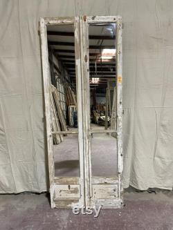 Antique Mirrored doors