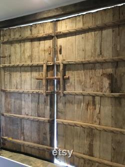 Antique Oriental Timber Doors