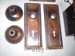 Antique Victorian Era Door Hardware
