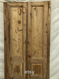 Antique panel doors (90.5x38.5) A033