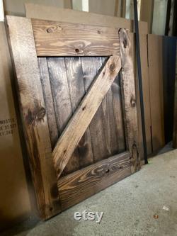 Any Size Barn Door Half Barn Door Small Bar Doors Mini Barn Doors Large Barn Doors Assembled Barn Doors Finished Barn Doors