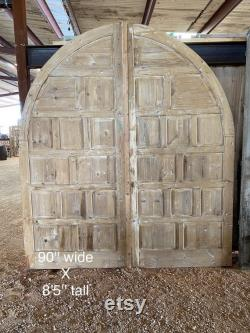 Arched Multi-Panel French Doors