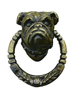 Bulldog Door Knocker, Dog, Animal, French Bulldog, Puppy, Boxer