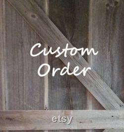 Cate's Custom Order