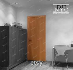 Compack 180 Degrees Folding Door System Inox Fisnish