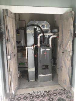 Custom Bi-Fold Barn Door