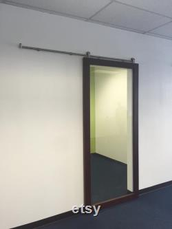 Custom Glass Barn Doors
