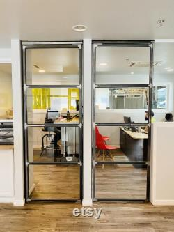 Custom Metal Door For Home and Office Interior 36 x 80 matte black finish FREE SHIPPING