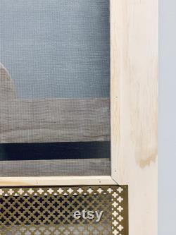 Custom Screen Door with Tree Custom Screen Door with Cut Out Wood Screen Door Farmhouse Door Balcony Door