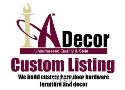 Custom listing for Patty Steel Wheel Barn Door Hardware- Metal Wheel Barn Door Hardware Commercial Barn Door Hardware Strongest