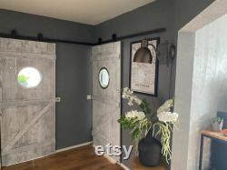 Door with door, sliding door, hanging door, stable door, incl. rollers and rail