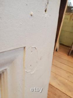 Eight Panel Door, Salvaged Door, Burnham Mansion, Large Antique Door, Tall Antique Door, 30 Inch Door, Reclaimed Door, Architecture Salvage