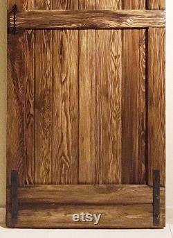 Fantastic, Rustic Barn Gate Complet with Sliding Sliding Door System