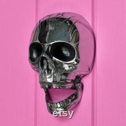 Forge Chrome Brass Deluxe Skull (Jaw Droppingly Original)