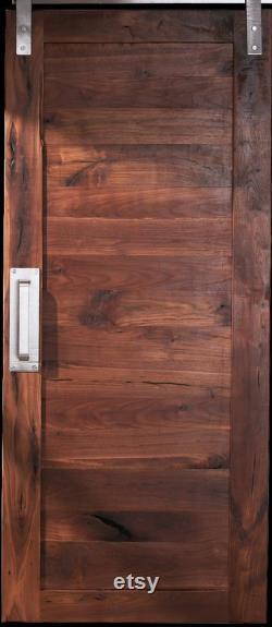 Free Shipping Walnut Sliding Barn Door
