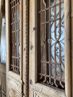 French European Architectural Salvage Iron Doors 5A E 038