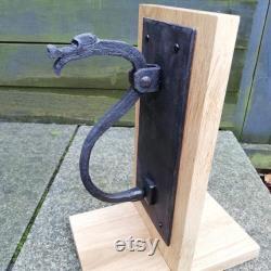 Hand Forged Dragon Motif Door Knocker