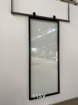 Hand Made Metal Barn Door For Home and Office Interior Customizable FREE SHIPPING
