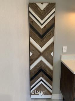 Handcrafted, 3-D Design, Wood Door
