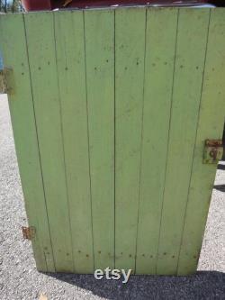 Handmade Storage Barn Doors Storage Doors Crawl Space Door Critter Cage Doors Barn Doors Farmhouse Shabby Chic Barn wood Doors Handmade Door