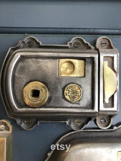 Iron Victorian Privacy Rim Latch
