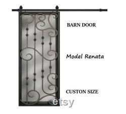 Iron barn doors, local free shipping Denver CO. wrought iron interior door and gates, Wrought Iron Wine Cellar Doors,