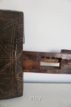 Lock. Old Lock Door Morocco