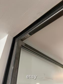 Matte black 48 x 80 Double Interior Doors FREE SHIPPING