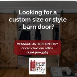 Modern Horizontal multicolor customize your own door