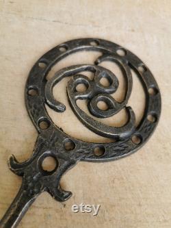 Old Door Key, Vintage Forged Key, Ottoman Rustic Key, Wood Door Keys, Iron Keys, Skeleton Key, Old Keys,Turkish Keys 6x24cm