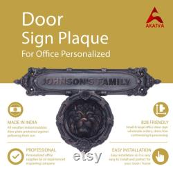 Personalized Door Knocker As Per Requirements Unlimited Revision for Drawing Finished Product As per the Choice (ORB, AB, AC etc)