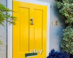 Polished Nickel Door Knocker Made from recycled brass Unique Door Knocker design Silver door knockers Chrome door knocker