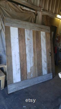 Rustic Sliding Barn Doors (Tracks Available)