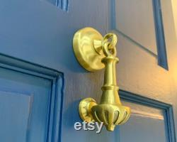 Scallop Drop Door Knocker Available in 4 Colours Front Doors that make an entrance