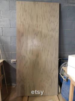 Slab Barn Door