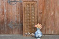Suryagarh Haveli Tribal Door,Rajasthani Haveli Door,Antique Tribal Doors,Indian Carved Doors,Rustic Metal Strapped Doors,BrassIndian window