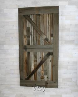 Traditional Barn Wood Door