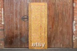 Tribal Kalimantan Painted Door Panel,Architectural Rustic Carved Door,Carved barn door,Painted Decorative Panel,Boho CarvedPanel,closet door