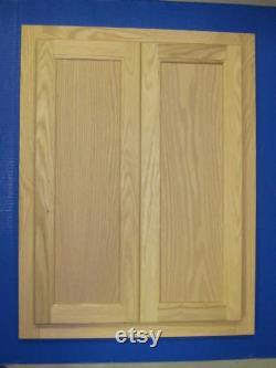 Unfinished Stain Grade Oak Face Frame and Doors Custom Sizes