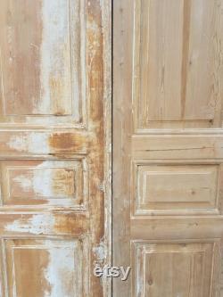 Venetian Style Moroccan Wooden Door-Double Panel
