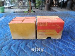 Vintage Eagle Paddle Locks in The Original Boxes NOS With Keys