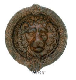 Vintage Lion Doornocker