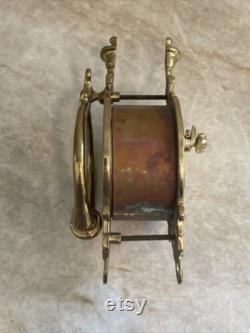 Vintage Peep Hole Brass Speakeasy Door Knocker Security Viewer